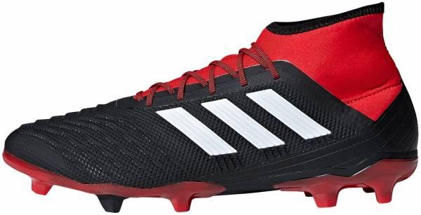 Adidas Predator 18.2 Firm Ground - Black/White/Red (DB1999)