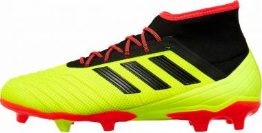 Adidas Predator 18.2 Firm Ground Solar Yellow/Black/Solar Red Men