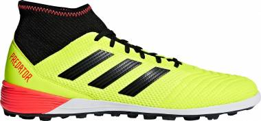 Adidas Predator Tango 18.3 Turf - Yellow (Solar Yellow/Core Black/Solar Red Solar Yellow/Core Black/Solar Red)