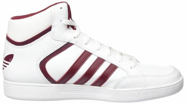 Adidas Varial Mid Weiß (Footwear White/Collegiate Burgundy/Footwear White)