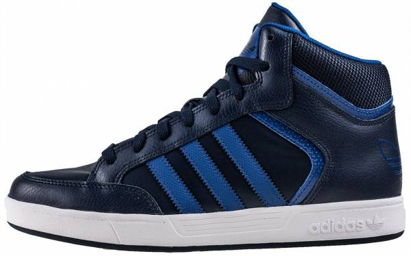 adidas Varial Mid shoes white grey blue