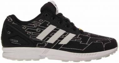 Adidas ZX Flux Weave - Black Black 1 Running White Ftw Onix (M21361)