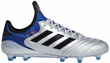 Adidas Copa 18.1 Firm Ground - Silver Metallic/Core Black/Football Blue
