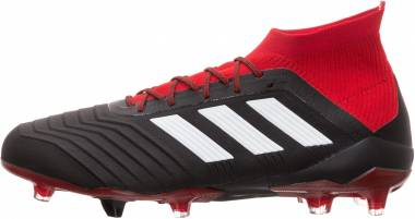f9a91f731 Adidas Predator 18.1 Firm Ground Core Black Footwear White Red Men
