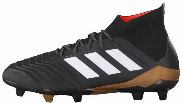 sports shoes 06751 adae3 Adidas Predator 18.1 Firm Ground Black