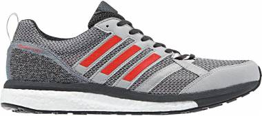 Adidas Adizero Tempo 9 - Grey/Hi-res Red/Carbon