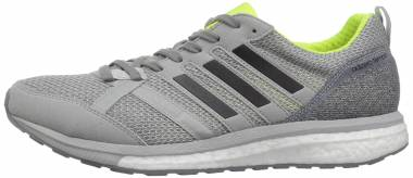 Adidas Adizero Tempo 9 Grey/Black/Solar Yellow Men
