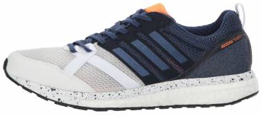 Adidas Adizero Tempo 9 - Blanc Indigo Noir (BB6434)