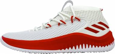 Adidas Dame 4 - White Red (AC7270)