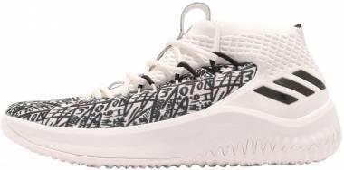 Adidas Dame 4 - Bianco (Clowhi/Crywht/Cblack Clowhi/Crywht/Cblack)