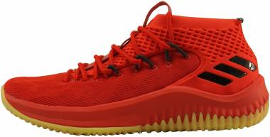 Adidas Dame 4 - Red Scarle Hirere Cblack Scarle Hirere Cblack (CQ0186)