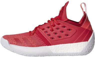Adidas Harden Vol. 2 Bold Red-shock Red-light Grey Men