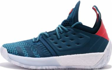 Adidas Harden Vol. 2 - Blue Night Bright Cyan Shock Red