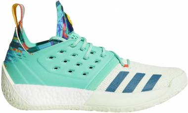Adidas Harden Vol. 2 Hi Res Green-aero Green-navy Men