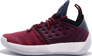 huge selection of 39a9f ddaea Adidas Harden Vol. 2 Red Red Grey Men