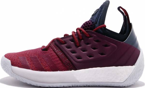 Adidas Harden Vol. 2 Red/Red/Grey