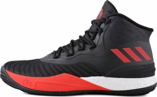the best attitude 73bbf 858d5 Adidas D Rose 8 Mehrfarbig (Core Black Scarlet Ftwr White)