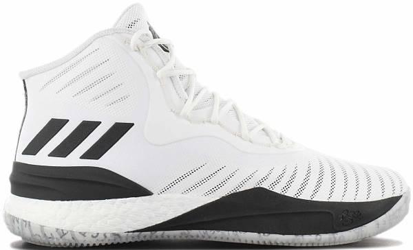 Adidas D Rose 8 - White Ftwwht Cblack Ftwwht Ftwwht Cblack Ftwwht (CQ0851)
