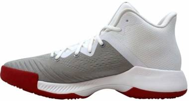 Adidas Mad Bounce - Footwear White/Scarlet-grey Two