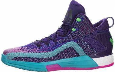 Adidas J Wall 2 Boost - Dark Purple/Blast Purple/Shock Pink (D70028)