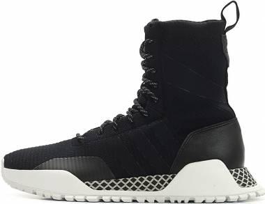 Adidas AF 1.3 Primeknit Boots - Negro/Negro/Blanco