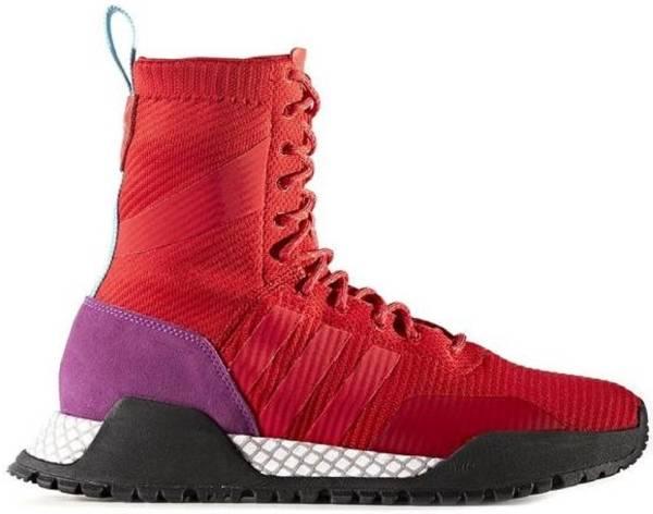 Adidas AF 1.3 Primeknit Boots - Red (BZ0611)
