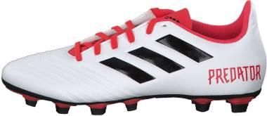 Adidas Predator 18.4 Flexible Grounds - White Ftwwht Cblack Reacor Ftwwht Cblack Reacor (CM7669)