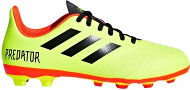 Adidas Predator 18.4 Flexible Grounds - Yellow (Solar Yellow/Core Black/Solar Red)