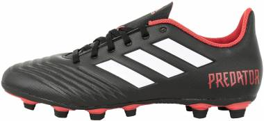Adidas Predator 18.4 Flexible Grounds - Black Cblack Ftwwht Red Cblack Ftwwht Red (CP9265)