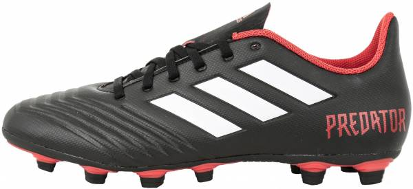 6ce03715955 Adidas Predator 18.4 Flexible Grounds Black (Cblack Ftwwht Red  Cblack Ftwwht