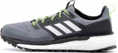 Adidas Supernova Trail - Grey Three Cloud White Core Black
