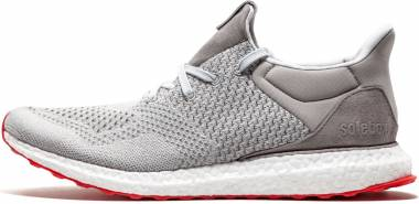 Solebox x Adidas Ultra Boost Uncaged - Grey Red