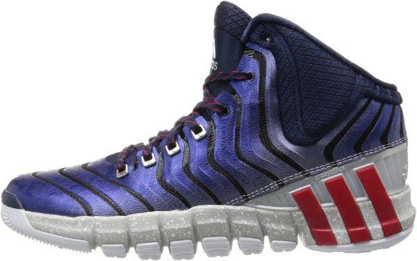Adidas AdiPure CrazyQuick 2 - Blau (Collegiate Navy / Light Scarlet