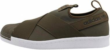 Adidas Superstar Slip-On - Vari Colori Olitra Olitra Ftwbla (BZ0114)
