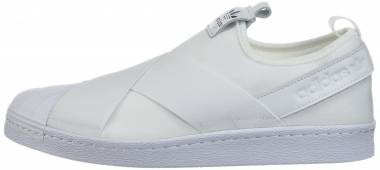 2015 adidas Superstar Slip On White Mono  adidas Shoes Sale