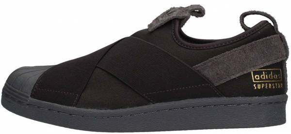 timeless design d2f7e d747b Adidas Superstar Slip-On Black Black Bz0209