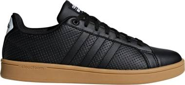 Adidas Cloudfoam Advantage - Black/Black/White