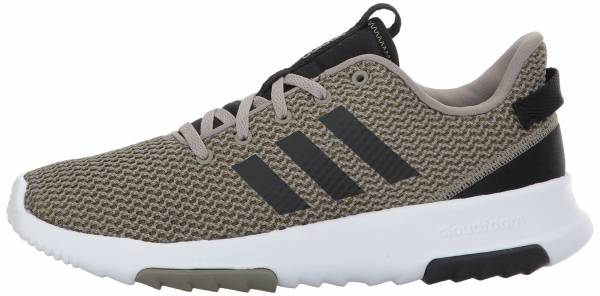 Details about Adidas CF RACER TR Mens Athletic Trail Running Shoes Sneakers Black White
