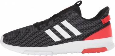 Adidas Cloudfoam Racer TR - Black White Hi Res Red
