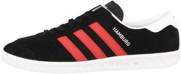 the latest cc090 d60a7 Adidas Hamburg Black