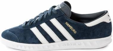 Adidas Hamburg - Collegiate Navy / Ftwr White / Gold Met (S74838)