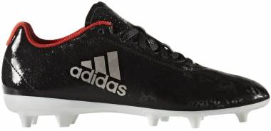 Adidas X 17.4 Firm Ground - Core Black/Platin Metallic/Core Red