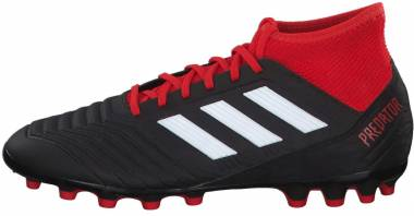 Adidas Predator 18.3 Artificial Grass - Black Cblack Ftwwht Red Cblack Ftwwht Red (BB7747)