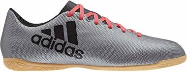 Adidas X 17.4 Indoor - Grey Grey Core Black Real Coral S18 (AH2339)