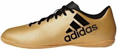 Adidas X 17.4 Indoor - Gold Tagome Cblack Solred Tagome Cblack Solred (CP9149)