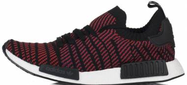 Adidas NMD_R1 STLT Primeknit - Core Black Red Blue (CQ2385)