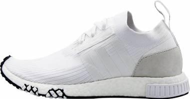 Adidas NMD_Racer Primeknit - Footwear White / Core Black