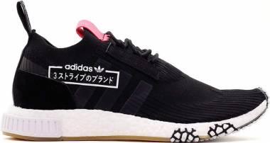 Adidas NMD_Racer Primeknit - Black Negbás Negbás Rojdes 000 (BB7041)
