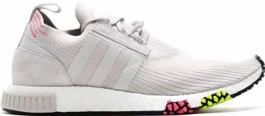 Adidas NMD_Racer Primeknit - Grey/Solar Pink (CQ2443)