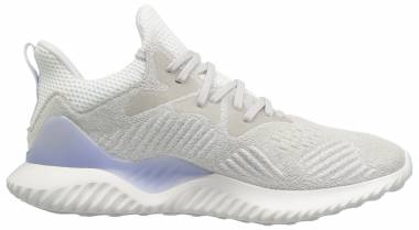 timeless design bd1bd 41b29 Adidas AlphaBounce Beyond Grey White Aero Blue Men